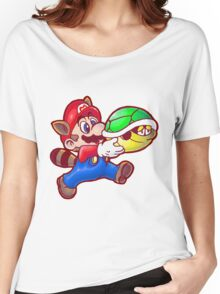 Raccoon Mario Women's Relaxed Fit T-Shirt