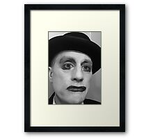 dr death rock, self portrait Framed Print