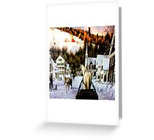 Winter In Summerville Greeting Card