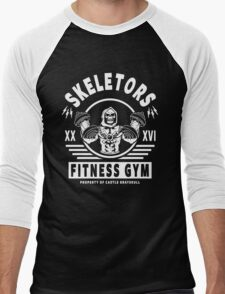 Skeletors Fitness Gym Men's Baseball ¾ T-Shirt
