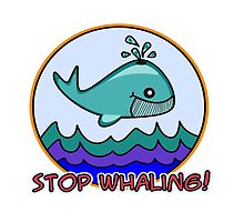 Stop whaling! by Maria  Gonzalez