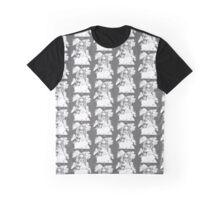 Black and White Phatima luvs Ice Cream Graphic T-Shirt