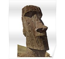 Easter Island Monolith Poster