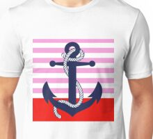 Ahoy! (pink dipped) Unisex T-Shirt