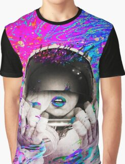 Psychedelic Astronaut (Vintage Effect) #2 Graphic T-Shirt