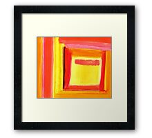 Pastel Painting 6 Framed Print