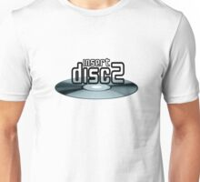 Insert Disc 2  (Blue) Unisex T-Shirt