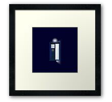 Doctor, WHO? Framed Print