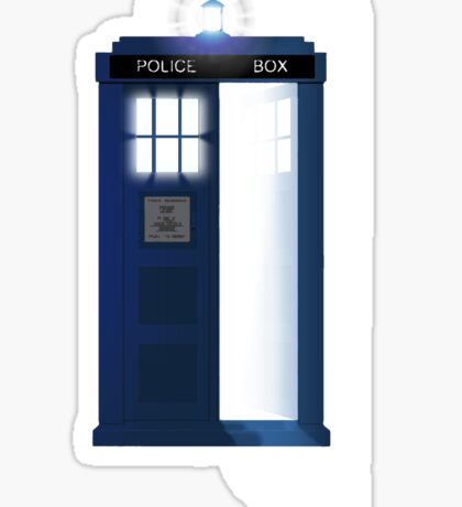 Doctor, WHO? Sticker