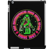 Bad Mofo from Outer Space Colour iPad Case/Skin
