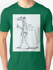 rad dragon dude looking cool with the 1975 lyrics T-Shirt