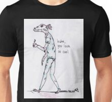 rad dragon dude looking cool with the 1975 lyrics Unisex T-Shirt