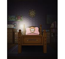 Maisy's Bedroom (The Monsters Video Art) Photographic Print