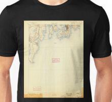 USGS TOPO Map Rhode Island RI Newport 353516 1894 62500 Unisex T-Shirt