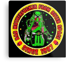 Bad Mofo from Outer Space Colour 2 Metal Print