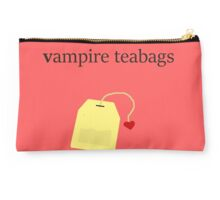 Vampire Teabags (Black1) Studio Pouch