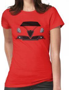 Alfa Romeo Giulietta embossed Womens Fitted T-Shirt