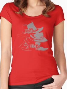 The Pirate Broter Hats Women's Fitted Scoop T-Shirt