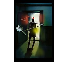 The Inspector is in. Photographic Print