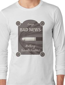 Percy's Bad News - Nothing Travels Faster! Long Sleeve T-Shirt