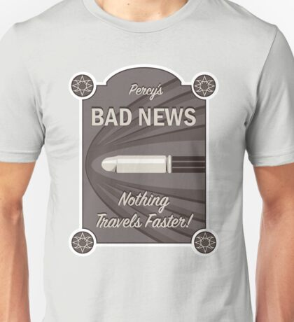 Percy's Bad News - Nothing Travels Faster! Unisex T-Shirt