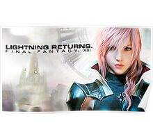 Final Fantasy XIII Lightning Returns Poster
