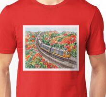 Train Illustration Unisex T-Shirt