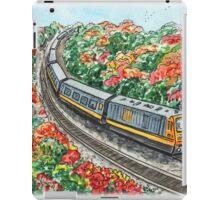 Train Illustration iPad Case/Skin