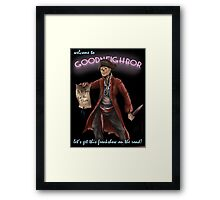 King of the Zombies Framed Print