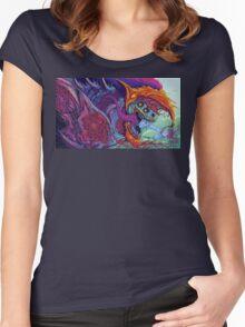 Hyper Beast  Women's Fitted Scoop T-Shirt