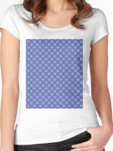 BLUE ON BLUE Women's Fitted Scoop T-Shirt