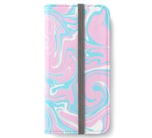 Pink and Blue iPhone Wallet/Case/Skin