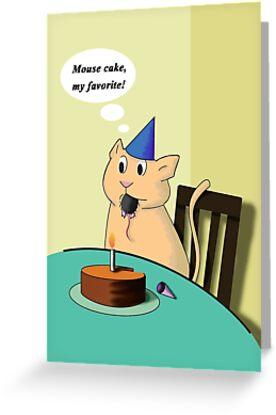 Birthday Cat by jkartlife