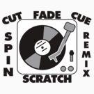 Turntable Record DJ Speak by FireFoxxy