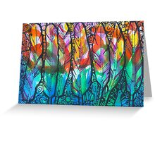 Feather Dream - Kerry Beazley Greeting Card