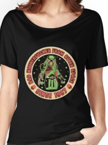 Bad Mofo from Outer Space Vintage Women's Relaxed Fit T-Shirt