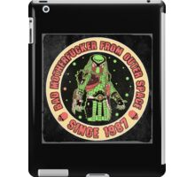 Bad Mofo from Outer Space Vintage iPad Case/Skin