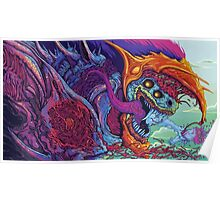 Counter Strike Global Offencive Hyper Beast Poster