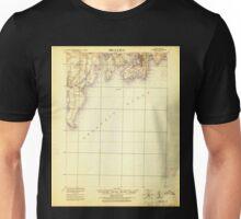 USGS TOPO Map Rhode Island RI Newport 353520 1920 62500 Unisex T-Shirt
