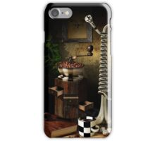 Still-life With The Trumpet iPhone Case/Skin