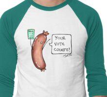 Democracy Sausage Men's Baseball ¾ T-Shirt