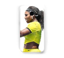 Digital Painting of Serena Williams Samsung Galaxy Case/Skin