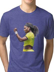Digital Painting of Serena Williams Tri-blend T-Shirt