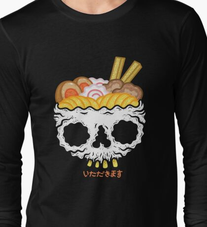 ITADAKIMASU- Ramen Long Sleeve T-Shirt