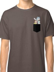 Rick and Morty Pocket Tees Classic T-Shirt