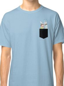 Rick and Morty Pocket Tees Classic T-Shirt