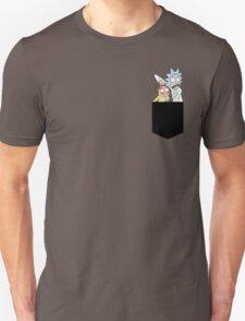 Rick and Morty Pocket Tees Unisex T-Shirt