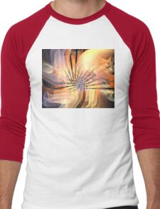 Floral Supernova Men's Baseball ¾ T-Shirt