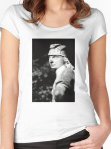 The Fast Stood Still Women's Fitted Scoop T-Shirt