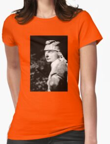 The Fast Stood Still Womens Fitted T-Shirt